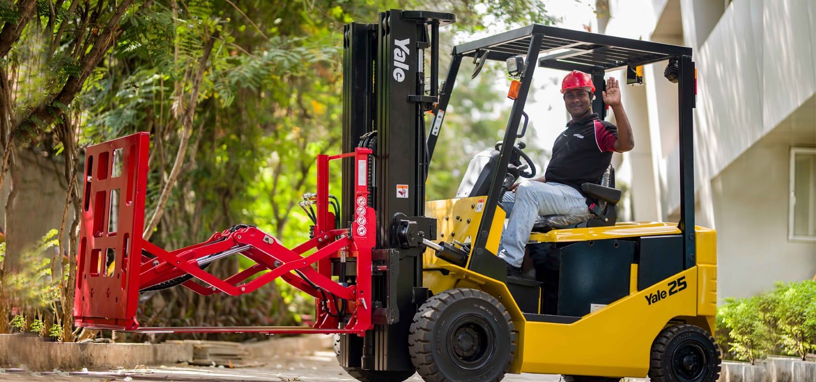 Best Forklifts Trucks with Attachments - Electromech-Yale